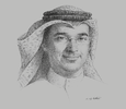 Sketch of Hisham Al Rayes, CEO, GFH Financial Group