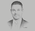 Sketch of Hatim Q Zu'bi, Partner, Zu'bi & Partners, Attorneys & Legal Consultants