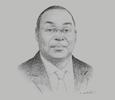 Sketch of Tiémoko Meyliet Koné, Governor, BCEAO