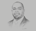 Sketch of Kinapara Coulibaly, Director-General, National Office for Technical and Development Studies (BNETD)