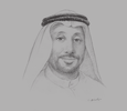 Sketch of Abdullah Sultan Al Owais, Chairman, Sharjah Chamber of Commerce and Industry