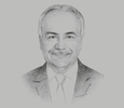 Sketch of Anis Aclimandos, President, American Chamber of Commerce in Egypt
