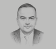 Sketch of Mohamed Khodeir, Chairman, General Authority for Investment