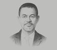 Sketch of Khalid Elgibali, Division President, Mastercard Middle East and North Africa