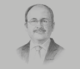 Sketch of Hassan Nouh, Managing Director, Ezz Steel