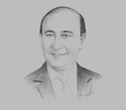 Sketch of Mohab Mameesh, Chairman and Managing Director, Suez Canal Authority (SCA)