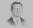 Sketch of Ahmed El Hitamy, CEO, Madinet Nasr Housing and Development