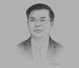 Sketch of Dinh Tien Dung, Minister of Finance