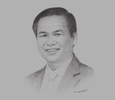 Sketch of Dao Dinh Thi, Chairman, BaoViet Holdings