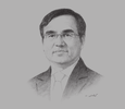 Sketch of Duong Quang Thanh, Chairman, Vietnam Electricity (EVN)