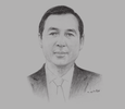 Sketch of Tiet Van Thanh, General Director, Vietnam Bank for Agriculture and Rural Development (Agribank)