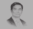 Sketch of Le Viet Hai, Chairman and General Director, Hoa Binh Construction Company