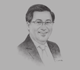 Sketch of Wong Heang Fine, Group CEO, Surbana Jurong