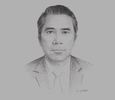 Sketch of Tuan A Phung, Managing Partner, VCI-Legal
