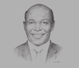 Sketch of Benson Wairegi, Group Managing Director and CEO, Britam