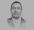 Sketch of Moses Ikiara, Managing Director, Kenya Investment Authority