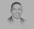 Sketch of Dan Kazungu, Cabinet Secretary, Ministry of Mining