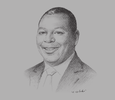 Sketch of James Mwangi, CEO and Managing Director, Equity Bank