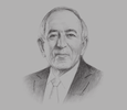Sketch of Habib Fekih, President, Airbus Africa and Middle East