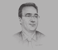 Sketch of Saïd Mazigh, General Manager, Carthage Power Company (CPC)