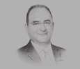Sketch of Anis Ghedira, Minister of Transport