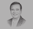 Sketch of Alex Buenaventura, President and CEO, Land Bank of the Philippines