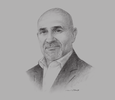 Sketch of Peter Grimes, President and CEO, FWD Philippines