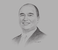 Sketch of Jonathan C Ng, President, Republic Biscuit Corporation