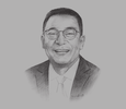 Sketch of Alberto C Agra, Chairman, Philippine Reclamation Authority (PRA)