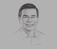 Sketch of Rodolfo A Salalima, Secretary, Department of Information and Communications Technology (DICT)