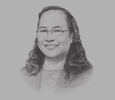Sketch of Paulyn Jean B Rosell-Ubial, Secretary, Department of Health