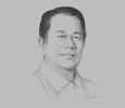 Sketch of Alfredo Marañon Jr, Governor, Province of Negros Occidental