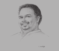 Sketch of Navin Dissanayake, Minister of Plantation Industries