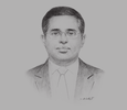 Sketch of Anura Wijayapala, Chairman, Ceylon Electricity Board (CEB)