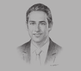 Sketch of John Wilson, Managing Proprietor, John Wilson Partners