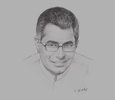 Sketch of Patali Champika Ranawaka, Minister of Megapolis and Western Development