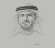 Sketch of Mohamed Juma Al Shamisi, CEO, Abu Dhabi Ports