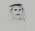 Sketch of Abdullah Belhaif Al Nuaimi, Minister of Infrastructure Development; and Chairman, Federal Transport Authority