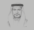 Sketch of Awaidha Murshed Al Marar, Chairman, Department of Municipal Affairs and Transport (DMAT)