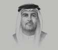 Sketch of Ali Majed Al Mansoori, Chairman, Abu Dhabi Department of Economic Development (ADDED),