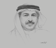 Sketch of Khalifa Mohammed Al Kindi, Chairman, Central Bank of the UAE
