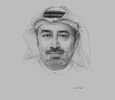 Sketch of Tirad Al Mahmoud, CEO, Abu Dhabi Islamic Bank