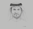 Sketch of Mohamed Al Hammadi, CEO, Emirates Nuclear Energy Corporation (ENEC)