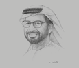 Sketch of Khalifa Al Romaithi, Chairman, UAE Space Agency