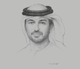 Sketch of Ahmad Belhoul Al Falasi, Minister of State for Higher Education