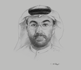 Sketch of Ahmed Al Sayegh, Chairman, Abu Dhabi Global Market (ADGM)