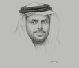 Sketch of Mohamed Thani Murshed Al Rumaithi, Chairman, Abu Dhabi Chamber of Commerce and Industry (ADCCI)