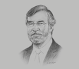 Sketch of Peter Shaw, Head of Latin America, Fitch Ratings