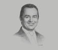 Sketch of Carlos Temboury, Director and Chairman, Enel Generación
