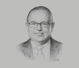 Sketch of Gonzalo Tamayo, Minister of Energy and Mines